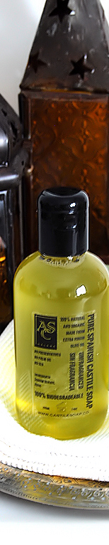 Liquid Castile Soap from Spain - made with olive oil